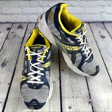 Asics Gel Nimbus Woman's Running Training Shoes Sneakers Blue Yellow Sz 9 TN430