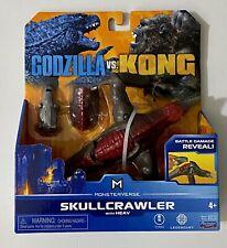 Godzilla Vs. Kong : Monsterverse - Skullcrawler - NEW IN HAND!