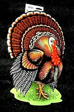 "Beistle 18"" x 12"" Thanksgiving TURKEY Holiday DOOR DECORATIONS CUTOUTS-DIE-CUTS"