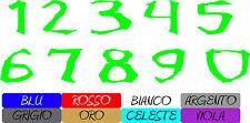 adesivi numeri carena font monster energy Aufkleber stickers cod76