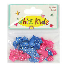 WIZZ KID MINI BOWS GREAT FOR  CARDS AND CRAFTS