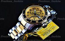 ➤➤Invicta Men Pro Diver SCUBA Quartz MULTI FUNCTION Gold Dial 18K Two Tone Watch