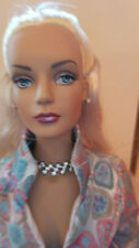"""Tonner 16"""" Tyler, Sydney Blue Ice Dressed Doll with Stand"""