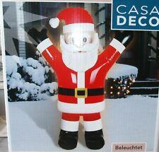 Aufblasbarer Weihnachtsmann beleuchtet 150cm IP44