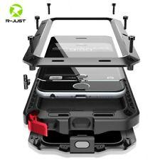 Estuche Fuerte Metal Aluminio Protector Para iPhone 5 6 6S 7 8 Plus X XS XR MAX