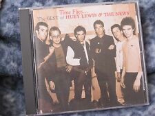 """HUEY LEWIS & THE NEWS """"THE BEST OF HUEY LEWIS & THE NEWS-TIME FLIES...""""  CD"""