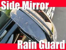 2pcs Tint Black Side Mirror RAIN/SNOW guard vent shade visor hyun002