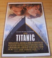 Titanic 11X17 Original Movie Poster Leonardo DiCaprio Kate Winslet