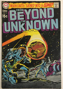 From Beyond The Unknown #3 (1970) DC Neal Adams Cover Carmine Infantino
