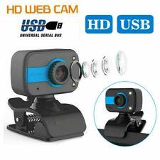 Webcam HD Kamera Laptop USB 2.0 Mit Mikrofon für Computer PC Mac Windows DHL