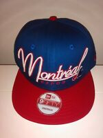 New Era 9FIFTY Montreal Expos Cooperstown Snapback Hat MLB Cap