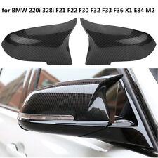 M3 Style Side Mirror Cover Caps Carbon Fiber For BMW F20 F22 F30 F32 F33 F36 E84