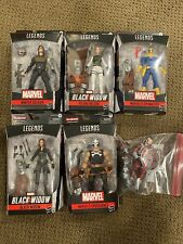 Marvel Legends Crimson Dynamo BAF Wave Black Widow