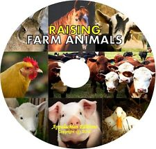 RAISE FARM ANIMALS Poultry Chicken Goat Sheep Pig Rabbit Cow Horse HOMESTEADING