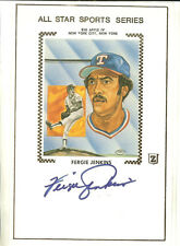 FERGIE JENKINS ALL STAR SPORTS SERIES AUTOGRAPHED SIGNED CACHE TEXAS RANGERS
