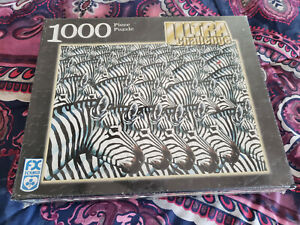 F.X. Schmid 1000 Piece Jigsaw Puzzle Zebra Ultra Challenge