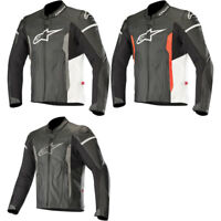 2019 Alpinestars Mens Faster Leather Motorcycle Jacket Sport Fit- Size/Color