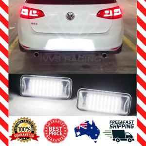 Fits VW Volkswagen MK6 MK7 MK7.5 R GTI Golf - Rear License Plate LED Light White