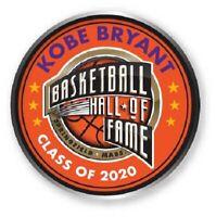 KOBE BRYANT 2020 NBA HALL OF FAME PIN LOS ANGELES LAKERS COMMEMORATIVE MAMBA