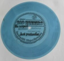 """Bad Manners Buster Bloodvessel No Respect 7"""" 33rpm Blue flexi disc Ska two-tone"""