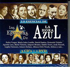 Lo Esencial De Las Estrellas De La Hora Azul  3 CDS+1DVD BRAND NEW SEALED