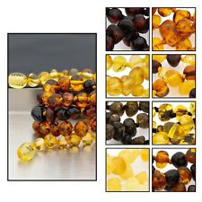Baltic Amber Baby/Toddler Necklace GIA Certificated, boost immune system