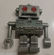Robot Belt Buckle Vintage silver color Metal cosplay collectible great gift
