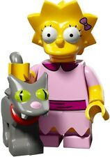 The Simpsons 2 Lego collectible minifig Lisa with cat, Snowball II