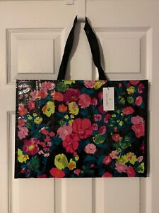 Vera Bradley Authentic Hilo Meadow Market Travel Tote NWT Carry On Bag