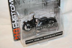 Harley Davidson '48 FL Panhead – black - 1:24 - Maisto