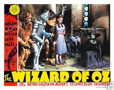 THE WIZARD OF OZ LOBBY SCENE CARD # 9 POSTER 1939 MARGARET HAMILTON WICKED WITCH
