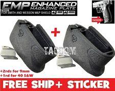Strike Industries 2 PACK Enhanced Magazine Plate Extension S&W M&P Shield EMP
