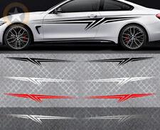 2 X BANDES GRAPHIQUE POUR AUDI BMW STREET RACING DECO AUTO STICKER BD517