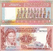Suazilandia/Swaziland - 1 lilangeni 1974 UNC-pick 1