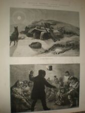 American Franklin Search Expedition arctic lodging eskimo kalani 1881 prints
