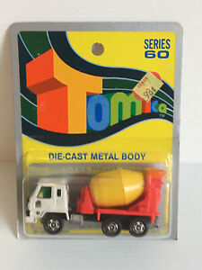 TOMICA NISSAN DIESEL CEMENT TRUCK MADE IN JAPAN FOR GJ COLES & CO LTD.
