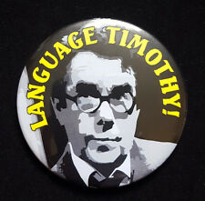 Language Timothy! Ronnie Corbett in Sorry - Large Button Badge - 58mm diam