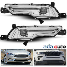 Fit 17-18 Ford Fusion 18-up Explorer Left/Right OEM-Spec LED Fog Lamps w/ Wire