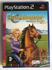 PS2 Barbie Horse Adventures Wild Horse Rescue, New & Factory Sealed, Flawed