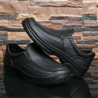 AtreGo Men's Chef Nurse Waterproof ~l Shoes Slip On Safety Work Loafers # L