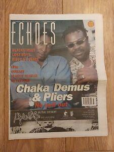 ECHOES MAGAZINE 14 SEPTEMBER 1996 CHAKA DEMUS & PLIERS BLACKSTREET LOST BOYS