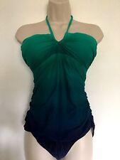 New Women's Ralph Lauren green blue  one piece size 10
