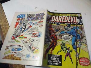 Daredevil No. 118 February 1975 Marvel Comics Group Original U.S.A