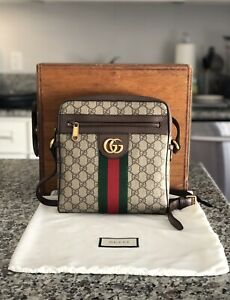 Excellent Gucci Ophidia GG Small Messenger Shoulder Bag Used Genuine