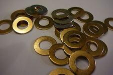 M10 arandelas de latón sólido bronce (10 Mm Arandelas 25-pack)
