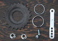 22t Coaster Brake Hub SPROCKET AXLE NUTS STRAP + Cruiser Bicycle Bike Wheel Cog