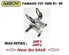 YAMAHA YZF 1000 R1 09 2009 Rear Sets ARROW Competition ALUMINUM
