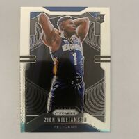 2019-20 Panini Prizm Zion Williamson Base #248 Rookie RC New Orleans Pelicans