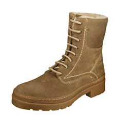 36f7888197e Women's Marco Tozzi 26237 Sand Fur Lined Winter Ankle Army BOOTS Size ...