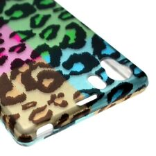 Hard Cover Protector Case for Sony Ericsson Xperia Z1 C6906 - Colorful Leopard
